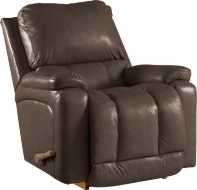 La-Z-Boy Greyson Brown Rocker Recliner