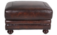 La-Z-Boy William 100% Leather Ottoman
