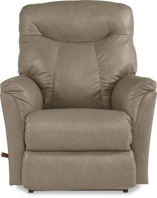 La-Z-Boy Fortune Beige Leather Rocker Recliner