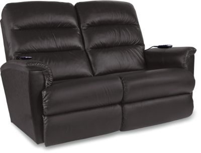 La-Z-Boy Tripoli Leather Reclining Loveseat/Power Headrest