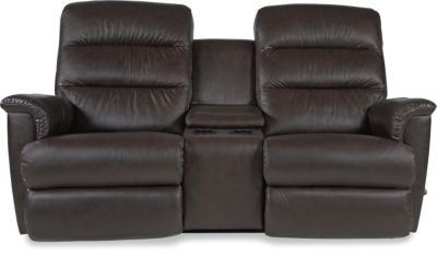 La-Z-Boy Tripoli Leather Power Recline Loveseat w/Pwr Bund.
