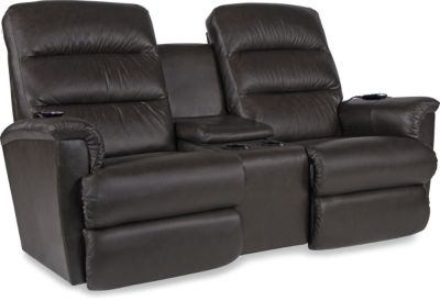 La-Z-Boy Tripoli Leather Pwr Recline Loveseat w/Pwr Lumbar
