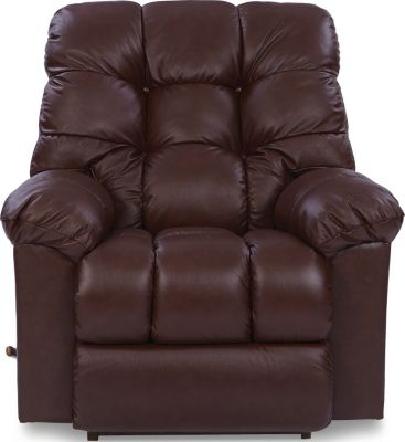 La-Z-Boy Gibson Espresso Leather Rocker Recliner