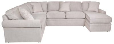La-Z-Boy Collins 4-Piece Right-Side Chaise Sectional