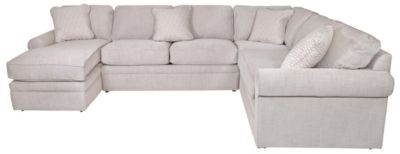 La Z Boy Collins 4 Piece Left Side Chaise Sectional