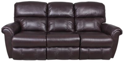 La Z Boy Briggs Leather Reclining Sofa