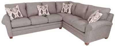 Lazy Boy Sectionals >> La Z Boy Natalie 2 Piece Sectional Homemakers Furniture
