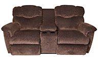 La-Z-Boy Lancer Power Reclining Console Loveseat