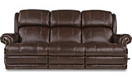 La-Z-Boy Kirkwood Leather Power Reclining Sofa
