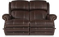 La-Z-Boy Kirkwood Reclining Leather Loveseat