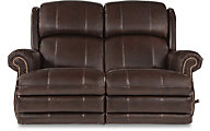 La-Z-Boy Kirkwood Leather Power Reclining Loveseat