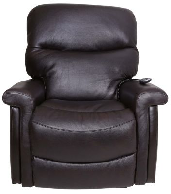 La-Z-Boy Baylor Leather Recliner with Power Headrest/Lumbar
