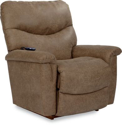 La-Z-Boy James Power Rocker Recliner with Heat & Massage