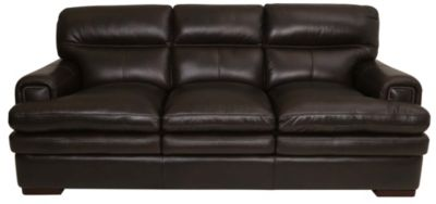 La Z Boy Jake 100% Leather Sofa