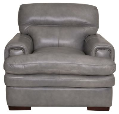 La-Z-Boy Jake 100% Leather Gray Chair