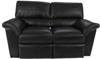 la z boy reese 100 leather reclining loveseat homemakers furniture