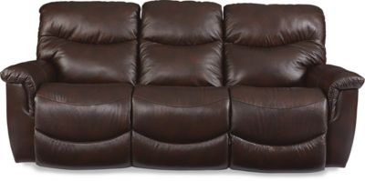 La Z Boy James Leather Reclining Sofa
