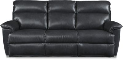 La-Z-Boy Jay Leather Sofa w/Power Recline & Headrest