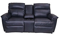 La-Z-Boy Jay Leather Loveseat w/Power Recline & Headrest