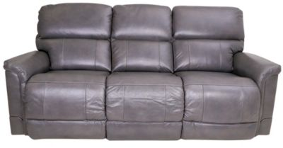 La-Z-Boy Oscar Power Recline Leather Sofa w/Power Headrest
