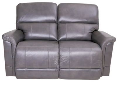La-Z-Boy Oscar Leather Loveseat w/Power Recline & Headrest