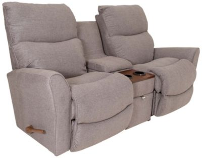 La-Z-Boy Rowan Reclining Console Loveseat with Power Bundle