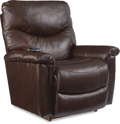 La-Z-Boy James Leather Power Recliner w/Power Headrest