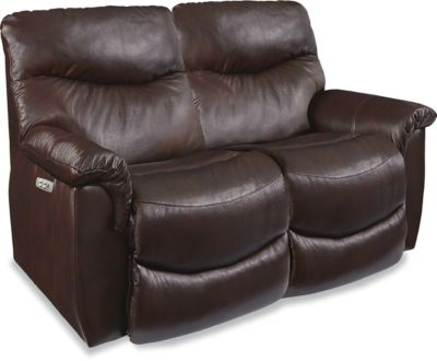 La-Z-Boy James Leather Power Recline Loveseat