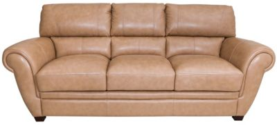 La-Z-Boy Nitro Sand 100% Leather Sofa