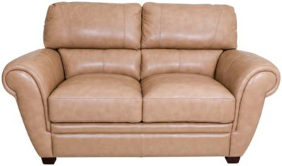 La-Z-Boy Nitro Sand 100% Leather Loveseat