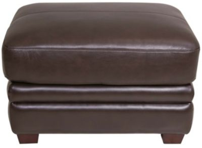 La-Z-Boy Nitro Brown 100% Leather Ottoman