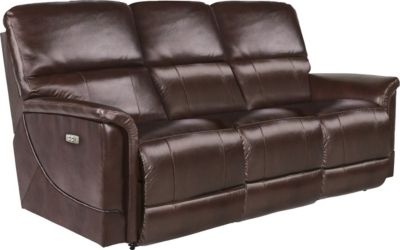 La-Z-Boy Oscar Power Recline Leather Sofa