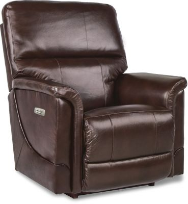 La-Z-Boy Oscar Power Recline Leather Rocker