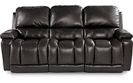 La-Z-Boy Greyson 100% Leather Power Reclining Sofa