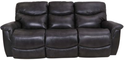 La-Z-Boy James Leather Power Reclining Sofa