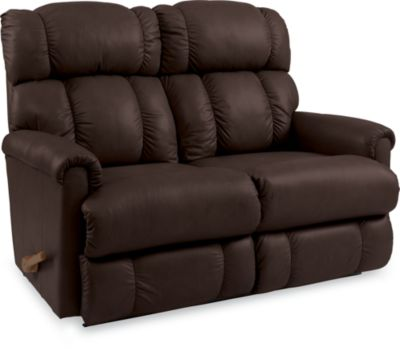 La-Z-Boy Pinnacle Leather Reclining Loveseat