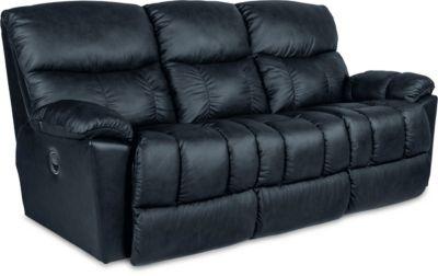 Swell La Z Boy Morrison Leather Reclining Sofa Machost Co Dining Chair Design Ideas Machostcouk