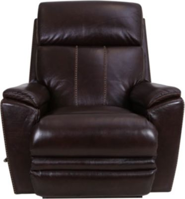 La-Z-Boy Talladega Brown Leather Rocker Recliner