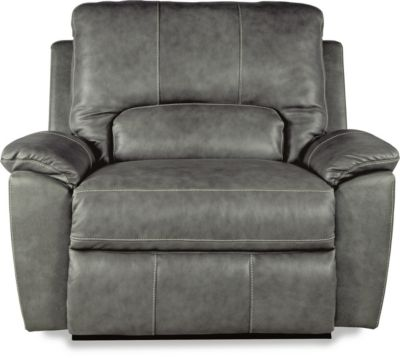 La-Z-Boy Charger Leather Reclining Chair & 1/2