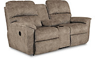 La-Z-Boy Brooks Reclining Console Loveseat