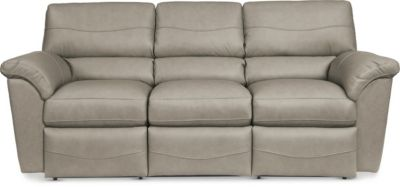 La Z Boy Reese Leather Reclining Sofa