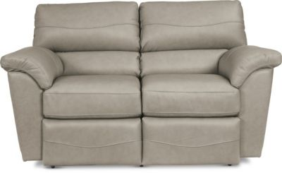 La-Z-Boy Reese Leather Reclining Loveseat