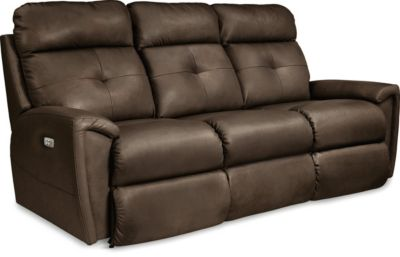 La-Z-Boy Douglas Leather Power Headrest Reclining Sofa