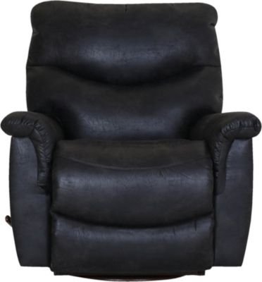 La-Z-Boy James Steel Swivel Rocker Recliner