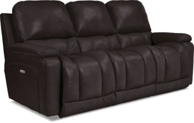 La-Z-Boy Greyson Leather Power Recline Sofa