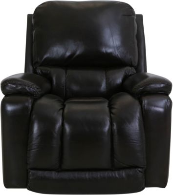 La-Z-Boy Greyson Brown Leather Power Rocker Recliner