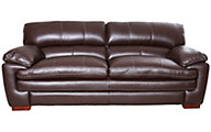 La-Z-Boy Dexter 100% Leather Chocolate Brown Sofa