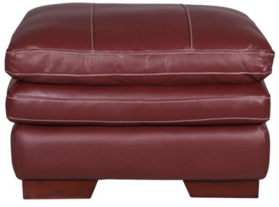 Marvelous La Z Boy Dexter 100 Leather Ottoman Gamerscity Chair Design For Home Gamerscityorg
