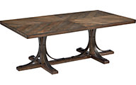 Magnolia Home White Oak Trestle Coffee Table