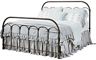 Magnolia Home Primitive Colonnade Queen Metal Bed